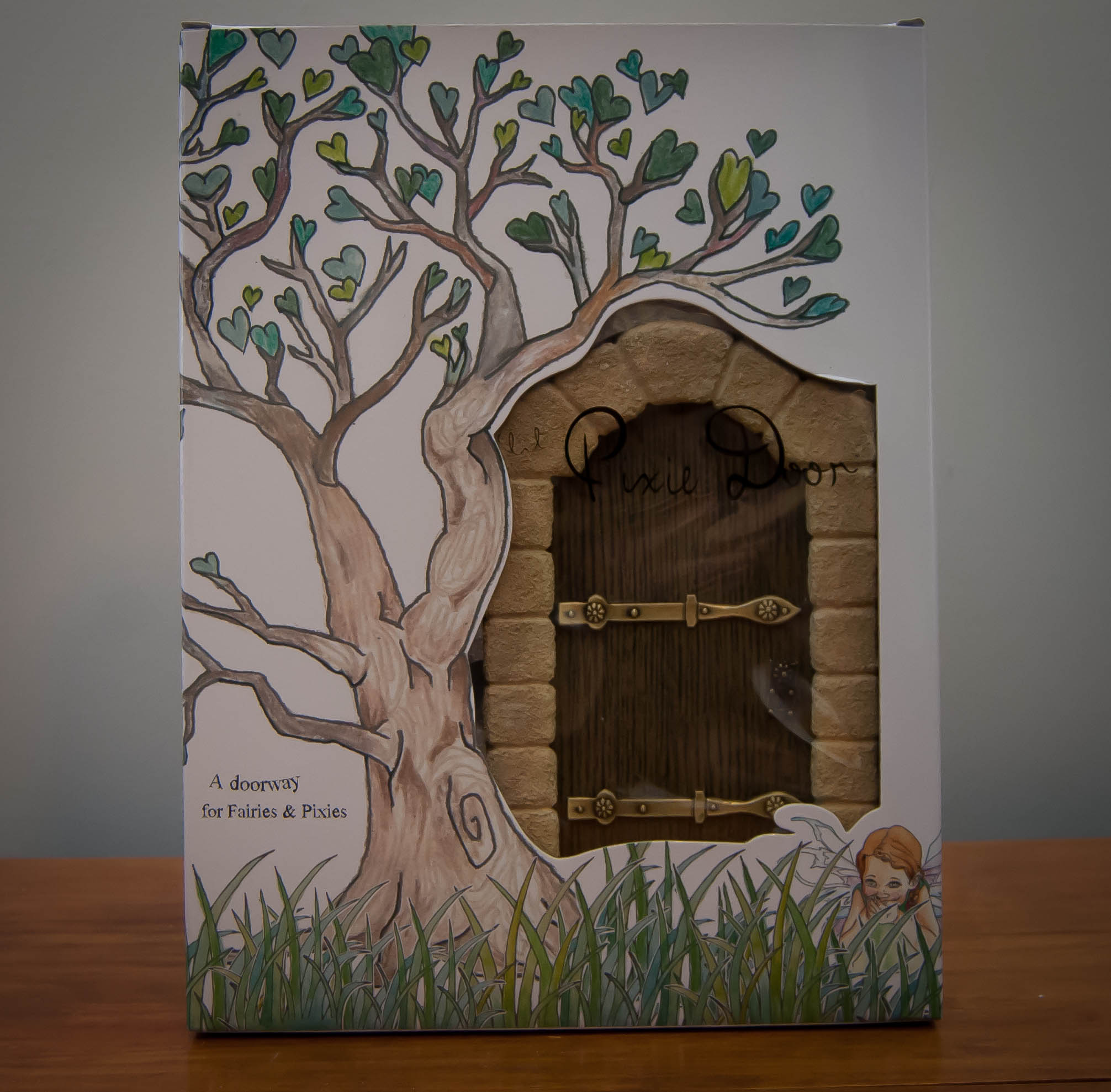 Fairy door pixie ivy lace gifts for Fairy doors au